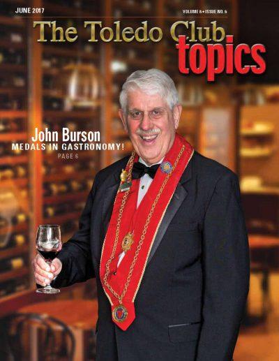 Chaine John Burson Toledo Club