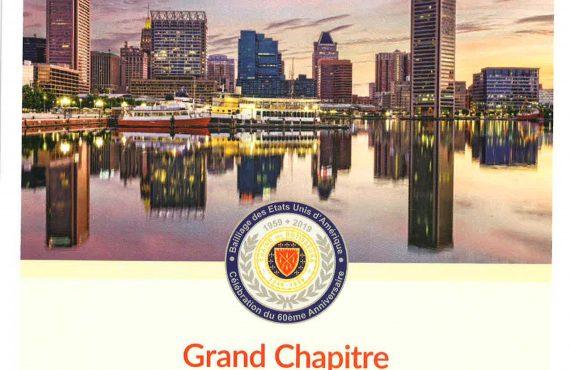 2019 Grand Chapitre Cover